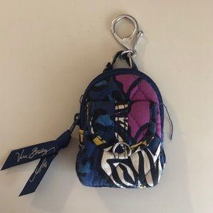 Vera Bradley Keychain Backpack